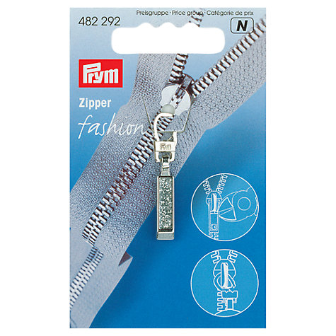 Buy Prym Zip Puller, Glitter Online at johnlewis.com