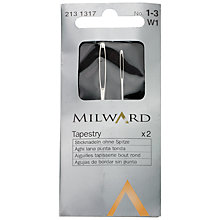 Buy Milward Tapestry Needles, Sizes 1/3, Pack of 2 Online at johnlewis.com