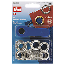 Buy Prym Eyelets, 14mm, Pack of 10 Online at johnlewis.com