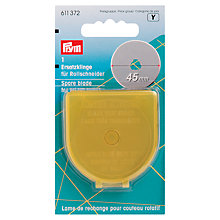 Buy Prym Omnicut Rotary Cutter Spare Blades, 45mm Online at johnlewis.com