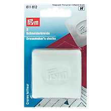 Buy Prym Dressmaker's Chalk, Pack of 2, White Online at johnlewis.com