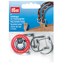 Buy Prym Metal Bag Handle Shackle Clasps, Silver Effect, Pack of 4 Online at johnlewis.com