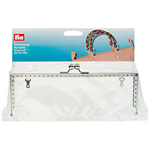 Buy Prym Lucia Metal Bag Fastening Clasp, Silver, 1 Piece Online at johnlewis.com