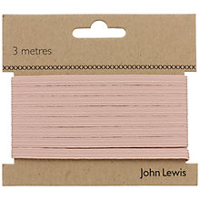 Buy John Lewis 8 Corded Elastic, Pink Online at johnlewis.com
