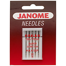 Buy Janome Ball Point Sewing Machine Needles Online at johnlewis.com
