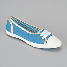 Buy John Lewis Girl Low Front Canvas Shoes Online at johnlewis.com
