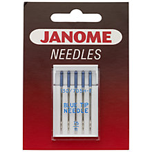 Buy Janome Blue Tip Needles, Size 11, Pack of 5 Online at johnlewis.com