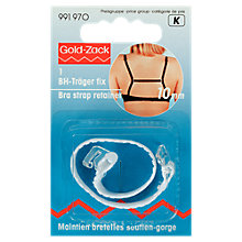 Buy Prym Gold-Zack Bra Retainer, White Online at johnlewis.com