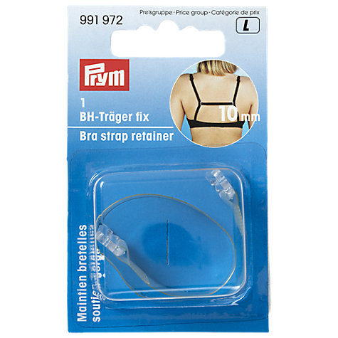 Buy Prym Gold-Zack Bra Retainer, Clear Online at johnlewis.com