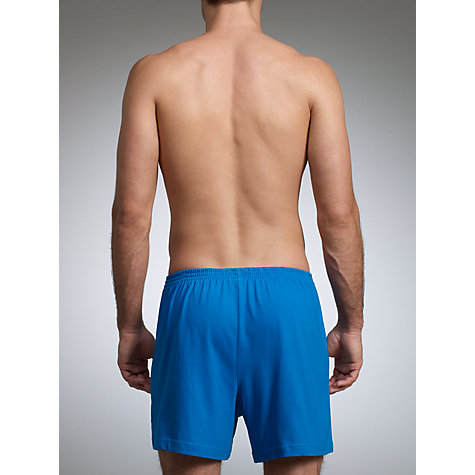 Buy John Lewis Organic Jersey Cotton Boxers, Pack of 3 Online at johnlewis.com