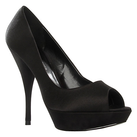 Buy KG by Kurt Geiger January Platform Stiletto Peep Toe Court Shoes Online at johnlewis.com