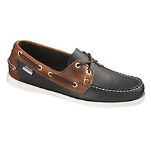 Buy Sebago Spinnaker Leather Boat Shoes Online at johnlewis.com