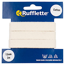 Buy Rufflette Cotton Webbing, 2m, Natural Online at johnlewis.com