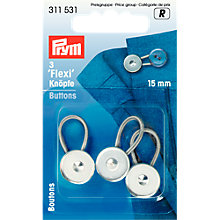 Buy Prym Flexi Buttons, Pack of 3 Online at johnlewis.com