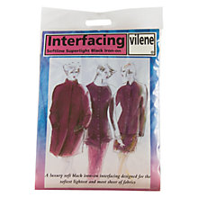 Buy Vilene Iron-On Ultrasoft Interfacing, White Online at johnlewis.com