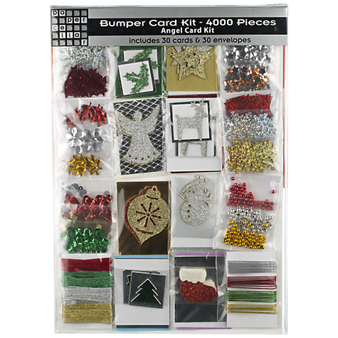 Buy Papercellar Bumper Angel Card Kit, Pack of 30 Online at johnlewis.com