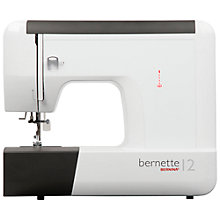 Buy Bernette 12 Sewing Machine Online at johnlewis.com