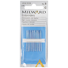 Buy Milward Embroidery Needles, Pack of 16 Online at johnlewis.com