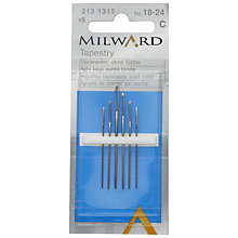 Buy Milward Tapestry Needles, Sizes 18-24, Pack of 6 Online at johnlewis.com