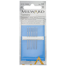 Buy Milward Tapestry Needles, Size 24, Pack of 6 Online at johnlewis.com