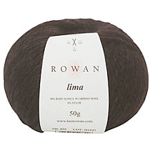 Buy Rowan Lima Alpaca Mix Aran Yarn, 50g Online at johnlewis.com