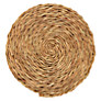 Gone Rural Woven Grass Coasters, Set of 4, Smoke