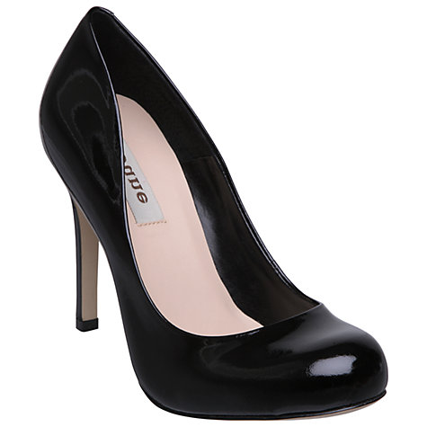 Buy Dune Sheen Round Toe Court Shoe Online at johnlewis.com