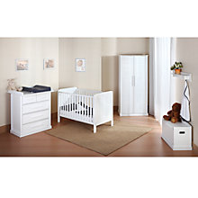 Buy John Lewis Mika Range, White Online at johnlewis.com