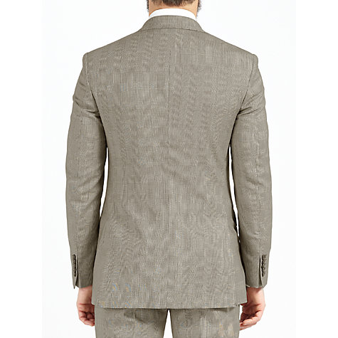 Buy John Lewis Made in Italy Prince of Wales Suit Jacket, Brown Online at johnlewis.com
