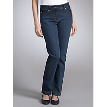 Buy Gerry Weber Roxanne Skinny Jeans, Mid Blue Online at johnlewis.com