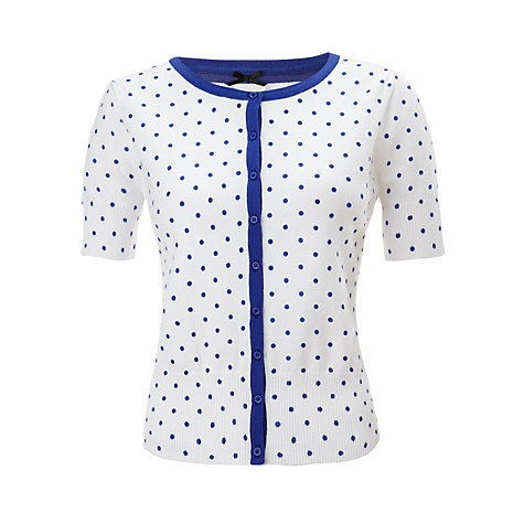 Buy COLLECTION by John Lewis Spotted Cardigan Online at johnlewis.com