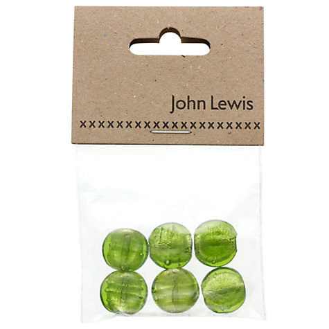 Buy John Lewis Coin Beads, Pack of 6 Online at johnlewis.com