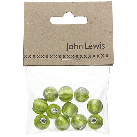 Buy John Lewis 10mm Beads, Pack of 10 Online at johnlewis.com