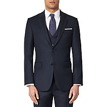 Buy John Lewis Birdseye Suit, Navy Online at johnlewis.com