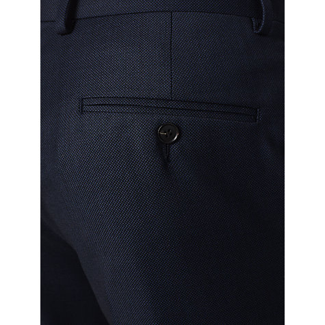 Buy John Lewis Birdseye Suit Trousers, Navy Online at johnlewis.com