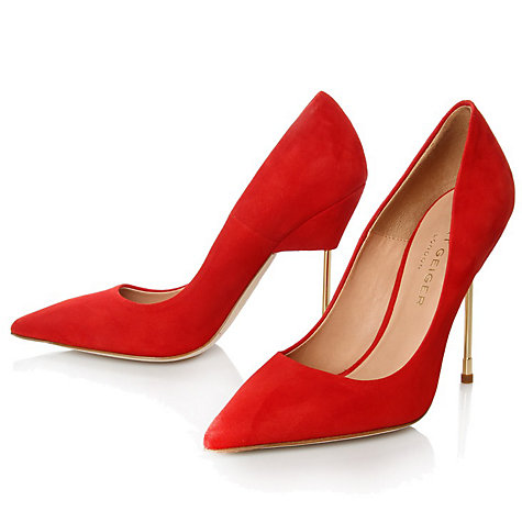Buy Kurt Geiger Elliot Pointed Toe Heels Online at johnlewis.com