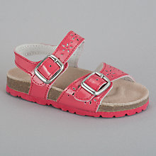 Buy John Lewis Girl Cut Out Sandals Online at johnlewis.com