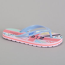 Buy John Lewis Girl Flag Flip Flop, Multi Online at johnlewis.com