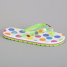 Buy John Lewis Girl Spot Flip Flop, Multi Online at johnlewis.com