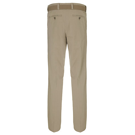 Buy John Lewis Men Belted Fine Stripe Stretch Trousers Online at johnlewis.com