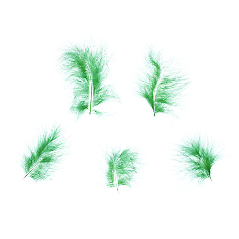 Buy John Lewis Marabou Feathers, Pack of 5 Online at johnlewis.com