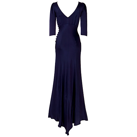 Buy Ghost Giselle Maxi Dress, Navy Online at johnlewis.com