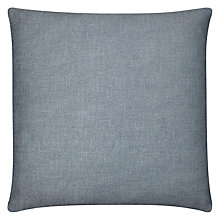 Buy John Lewis Burton Cushion, Blue Online at johnlewis.com