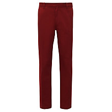 Buy John Lewis Lumsden Chinos, Red Online at johnlewis.com