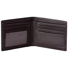 Buy John Lewis Leather Bi-Fold Coin Wallet Online at johnlewis.com