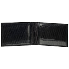 Buy John Lewis Leather Travel Pass Holder, Black Online at johnlewis.com