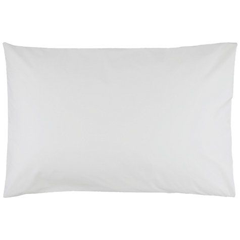 Buy John Lewis Pima Plain Pillowcase Online at johnlewis.com