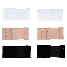 Buy Fashion Forms 3 Pack 2 Hook Bra Extenders, Multi Online at johnlewis.com