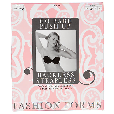 Buy Lingerie Solutions Go Bare Backless Strapless Bra Online at johnlewis.com