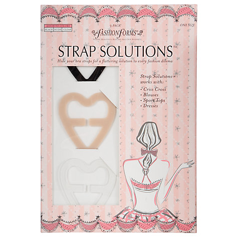 Buy Lingerie Solutions 3 Pack Bra Strap and Extender, Multi Online at johnlewis.com